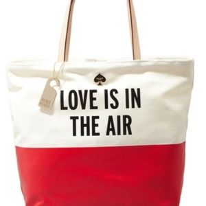 32f6e8eea65 Limited Edition Kate Spade-Love Is In The Air-Tote